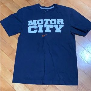 Nike - Detroit Motor City medium T-shirt.